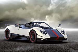 Click here to open the Pagani Zonda Cinque Roadster gallery