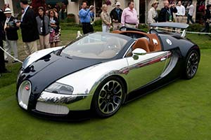 Click here to open the Bugatti Veyron 16.4 Grand Sport Sang Bleu gallery
