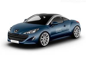 Click here to open the Peugeot RCZ HYbrid4 Concept gallery