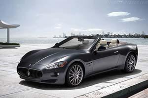 Click here to open the Maserati GranCabrio gallery