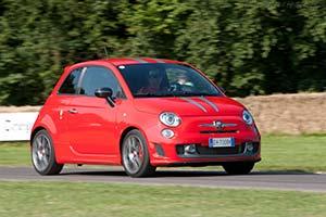 Click here to open the Fiat Abarth 695 Tributo Ferrari gallery