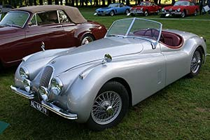 Click here to open the Jaguar XK120 Roadster gallery