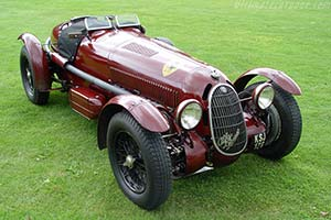 Click here to open the Alfa Romeo 8C 2900A Botticella Spider gallery