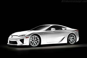Click here to open the Lexus LFA gallery