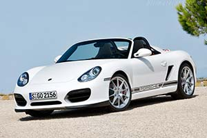 Click here to open the Porsche Boxster Spyder gallery
