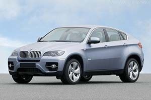 Click here to open the BMW ActiveHybrid X6 gallery