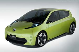 Click here to open the Toyota FT-CH Concept gallery