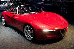 Click here to open the Alfa Romeo 2uettottanta Pininfarina Spider gallery
