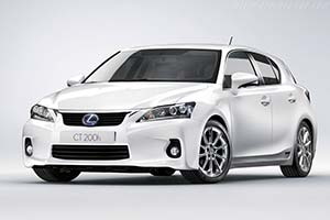 Click here to open the Lexus CT 200h gallery