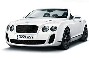 Click here to open the Bentley Continental Supersports Convertible gallery