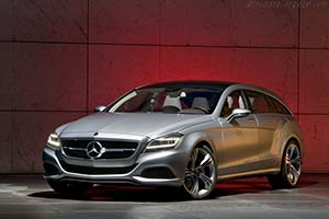 Click here to open the Mercedes-Benz CLS Shooting Brake gallery