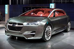Click here to open the Subaru Hybrid Tourer Concept gallery