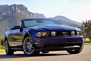 Click here to open the Ford Mustang GT Convertible gallery