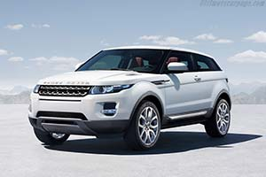 Click here to open the Land Rover Range Rover Evoque gallery