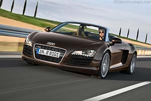 Click here to open the Audi R8 Spyder 4.2 FSI quattro gallery