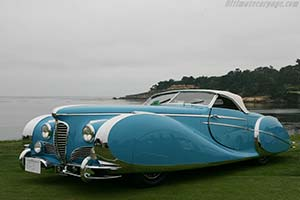 Click here to open the Delahaye 175 S Saoutchik Roadster gallery