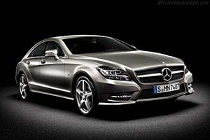 Click here to open the Mercedes-Benz CLS 550 gallery