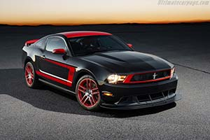 Click here to open the Ford Mustang Boss 302 Laguna Seca gallery