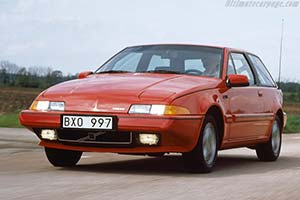 Click here to open the Volvo 480 Turbo gallery