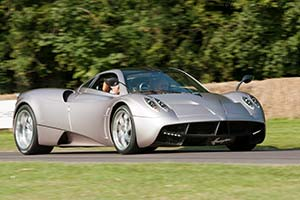 Click here to open the Pagani Huayra gallery