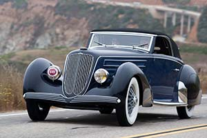 Click here to open the Duesenberg J Graber Cabriolet gallery