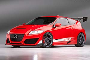 Click here to open the Honda CR-Z Hybrid R Concept gallery