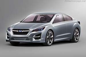 Click here to open the Subaru Impreza Design Concept gallery