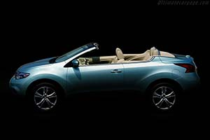 Click here to open the Nissan Murano CrossCabriolet gallery