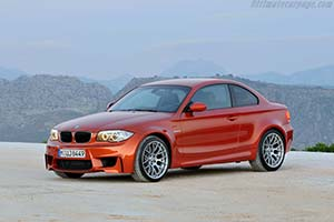 Click here to open the BMW 1 Series M Coupe gallery