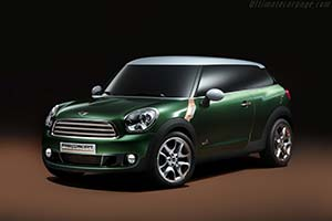 Click here to open the MINI Paceman Concept gallery