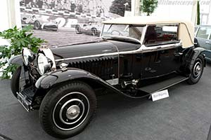 Click here to open the Bugatti Type 46 Veth & Zoon Faux Cabriolet gallery