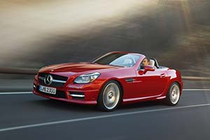 Click here to open the Mercedes-Benz SLK 350 gallery
