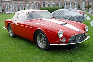 Click here to open the Maserati A6G/54 2000 Frua Spider gallery