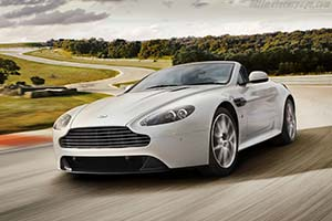 Click here to open the Aston Martin V8 Vantage S Roadster gallery
