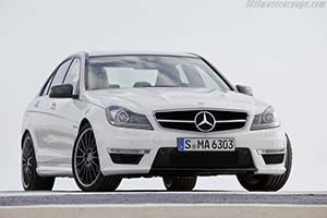 Click here to open the Mercedes-Benz C 63 AMG gallery