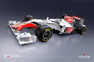 Click here to open the HRT F111 Cosworth gallery