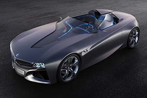 Click here to open the BMW Vision ConnectDrive gallery