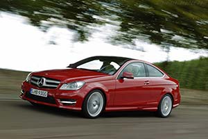 Click here to open the Mercedes-Benz C 350 BE Coupe gallery