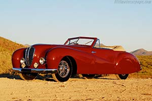 Click here to open the Delahaye 135 M Pourtout Cabriolet  gallery