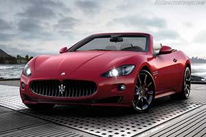Click here to open the Maserati GranCabrio Sport gallery