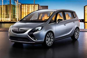 Click here to open the Opel Zafira Tourer Concept gallery
