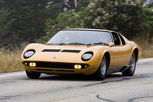 Click here to open the Lamborghini Miura P400 Prototipo gallery