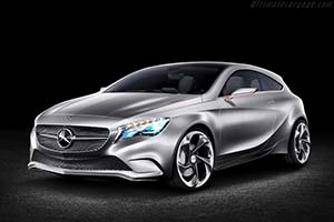 Click here to open the Mercedes-Benz Concept A-Class gallery