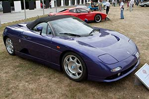Click here to open the DeTomaso Guarà Spider gallery