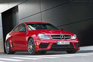 Click here to open the Mercedes-Benz C 63 AMG Coupe Black Series gallery