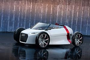 Click here to open the Audi Urban Spyder Concept gallery