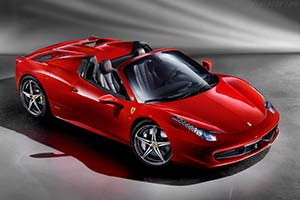 Click here to open the Ferrari 458 Spider gallery