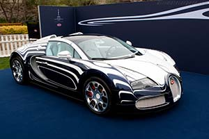 Click here to open the Bugatti Veyron 16.4 Grand Sport 'l'Or Blanc' gallery