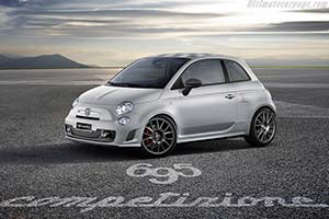 Click here to open the Fiat Abarth 695 Competizione gallery