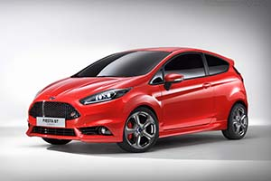 Click here to open the Ford Fiesta ST Concept gallery
